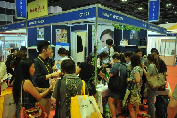 BeautyAsia welcomed more than 180 international exhibitors from 20 different countries this year (2)