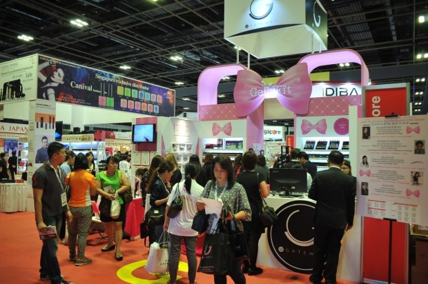 BeautyAsia welcomed more than 180 international exhibitors from 20 different countries this year(1)